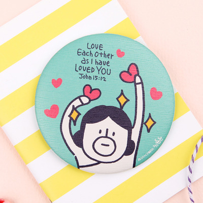 GRACEBELL Hello Dundun hand mirror 04. Love each other