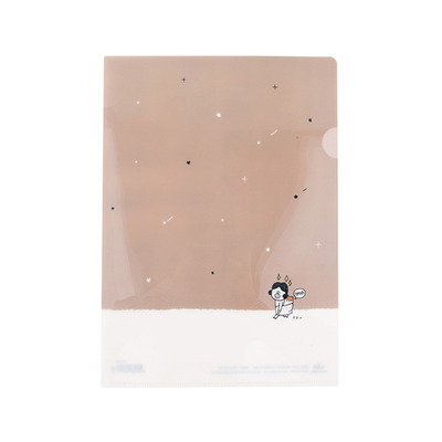 GRACEBELL Hello Dundun A4 File Holder 02.Star Night