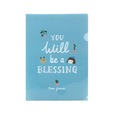 GRACEBELL Hello Jane A4 file holder 04.Blessing