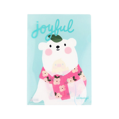 GRACEBELL Hello Jane A4 file holder 03.Gomi