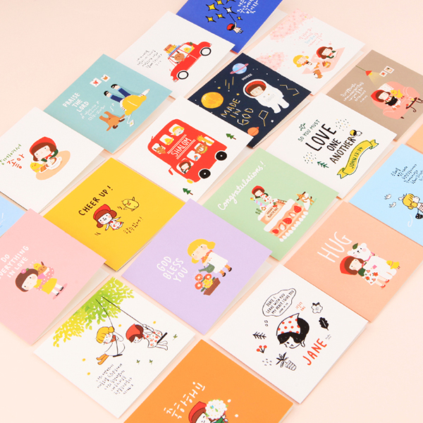 Hello Jane mini card 20 types