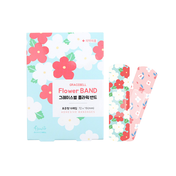 GRACEBELL Flower Bandages_Blue