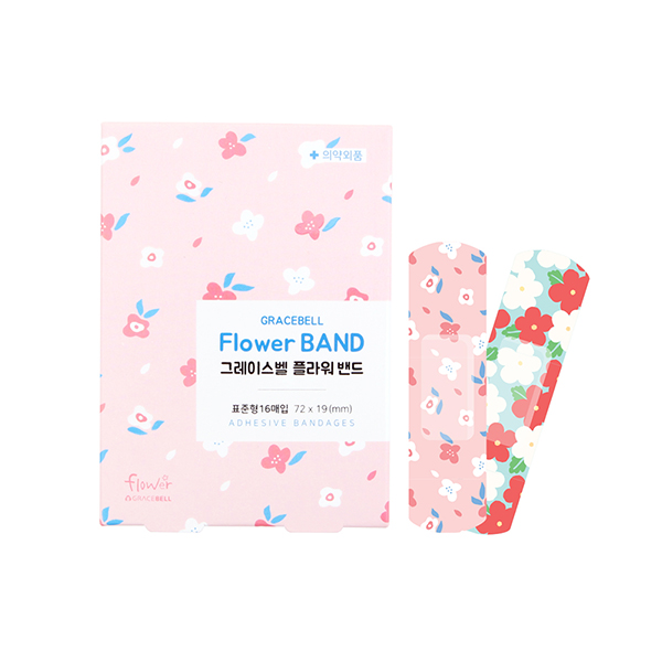 GRACEBELL Flower Bandages_Pink