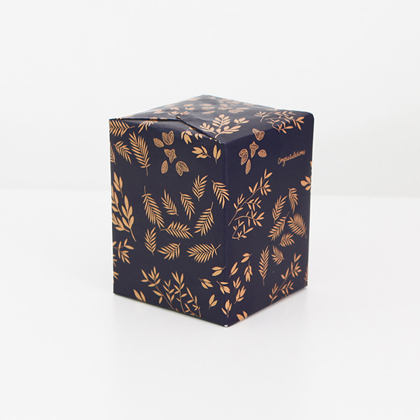 GRACEBELL Wrapping paper ver.2 15.Gold Blue