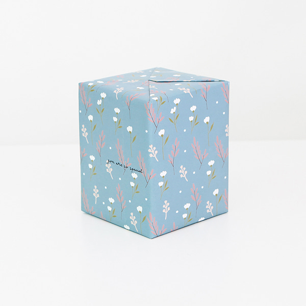 GRACEBELL Wrapping paper ver.2 13.Milky Blue