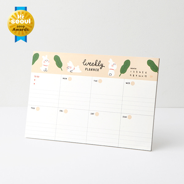 Hello Jane Weekly planner pad 03.Popo