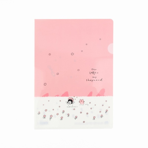 GRACEBELL Hello Dundun A4 File holder 07. Flower