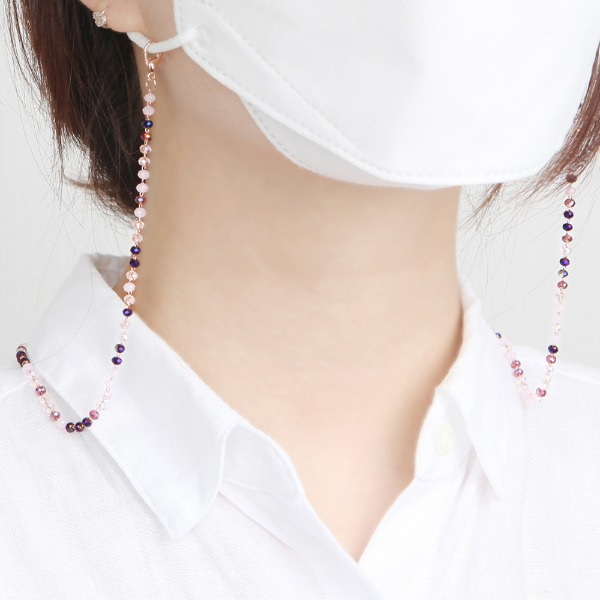 GRACEBELL Mask Strap Jewelry 06.Lavender Purple